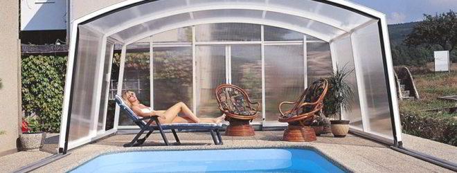 Разновидности павильонов для бассейнов
