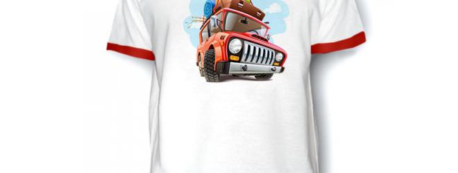 Наносим изображение на свою футболку