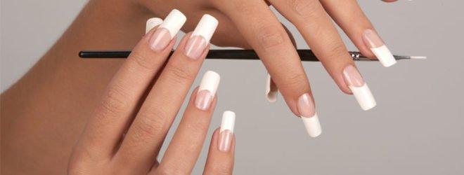 Наращивание ногтей определенной формы
