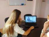 Изучение школьных предметов через интернет по скайпу.