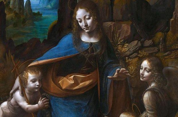 Леонардо написал немало картин