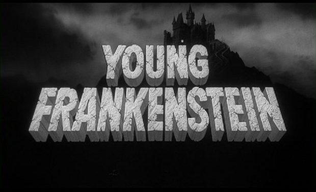 Заставка к фильму Молодой Франкенштейн