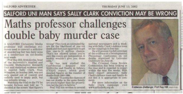 Статья об инциденте с Салли Кларк