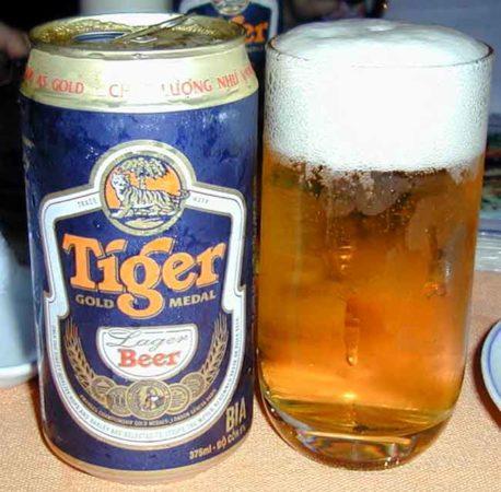 Tiger — звезда пивной индустрии Сингапура