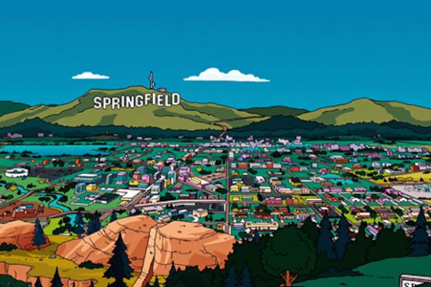 Спрингфилд из «Симпсонов»