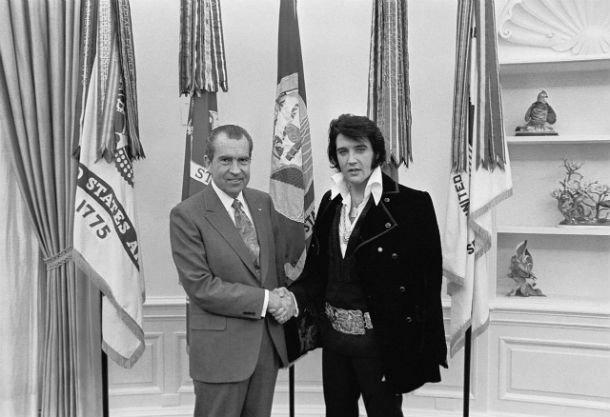 Пресли и Никсон