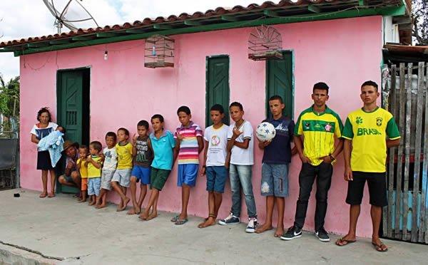 Семья из Бразилии