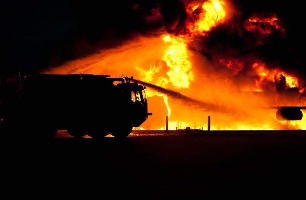 НФотография пожара