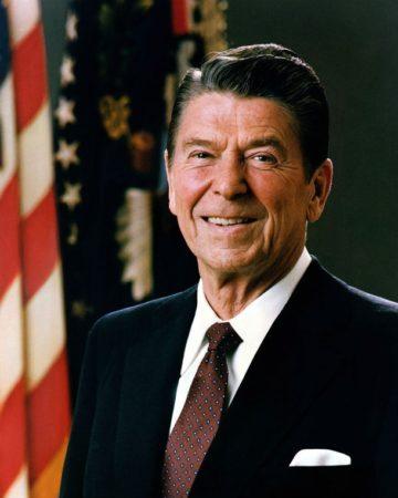 Портрет президента Рейгана