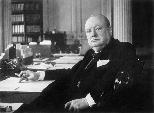Премьер-министр Уинстон Черчилль