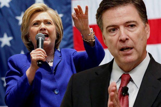 Клинтон и Коми