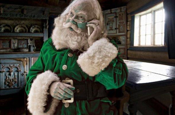 Санта Клаус дальтоника