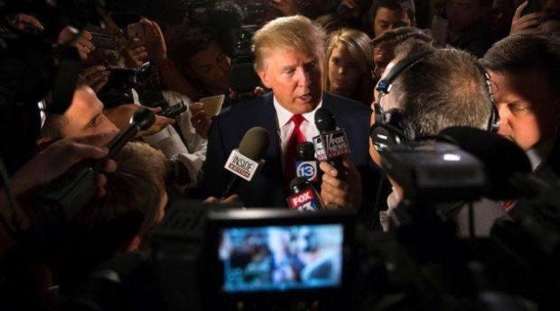 Трамп пресса