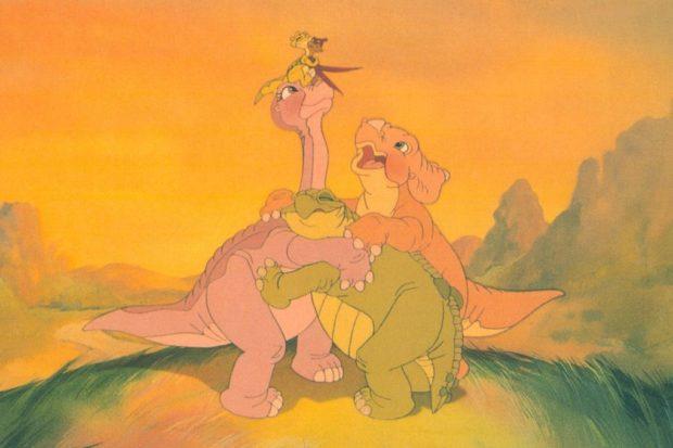 кадр из мультфильма «Земля до начала времён»