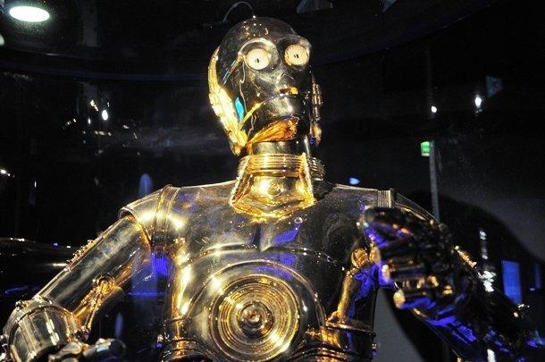 Нога C-3PO