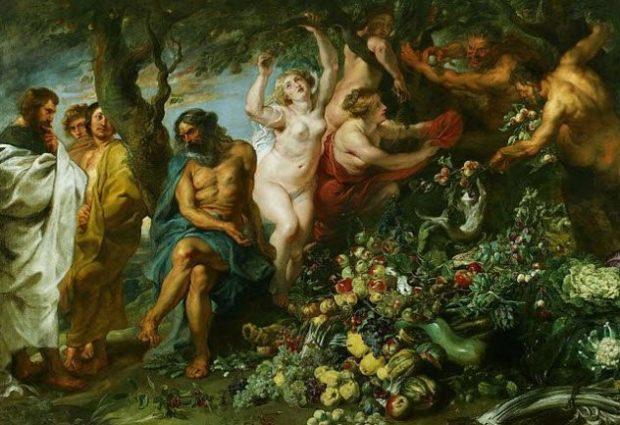 Интересный факт №5: Пифагор был одним из первых вегетарианцев