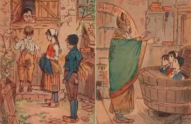 Кроме проституток, Святой Николай опекал ещё и детей