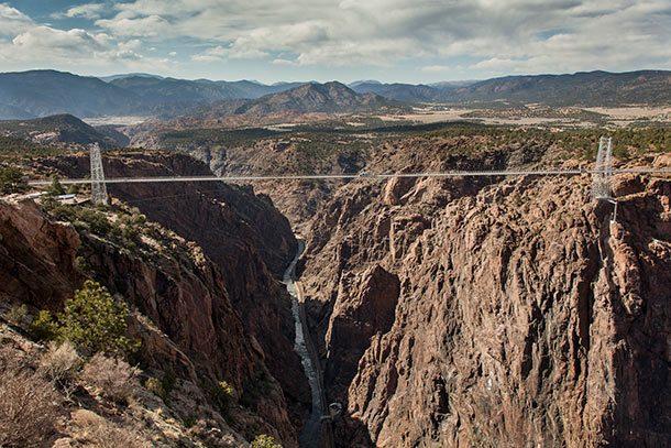Мост через Королевское ущелье (Колорадо, Соединённые штаты Америки)