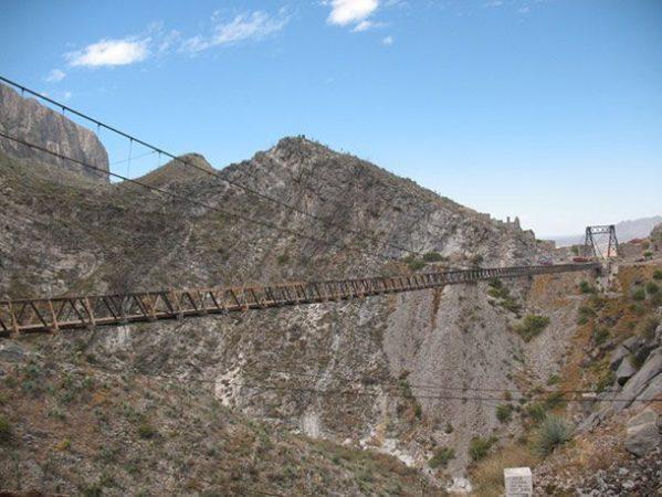 Мост Пуэнте де Ольеха, Мексика