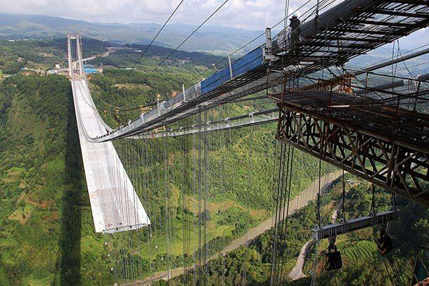Подвесной мост «Лонгджанг», Китай