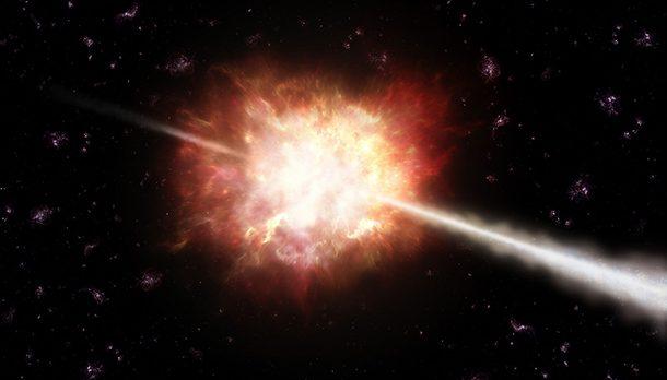 Выброс гамма-лучей