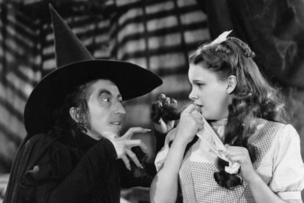 Джуди Гарланд во время съёмок «Волшебник страны Оз»