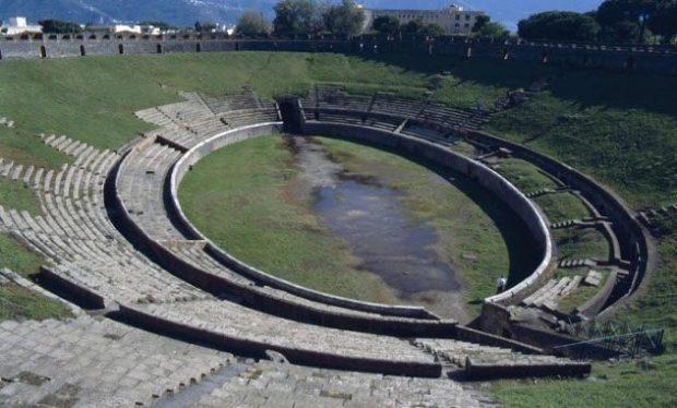 Амфитеатр в Помпеях