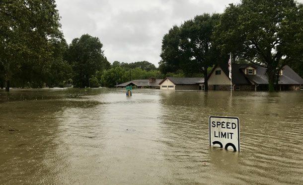 Хьюстон после урагана и наводнения