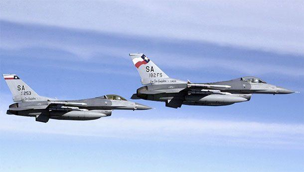 Истребители ВВС Техаса