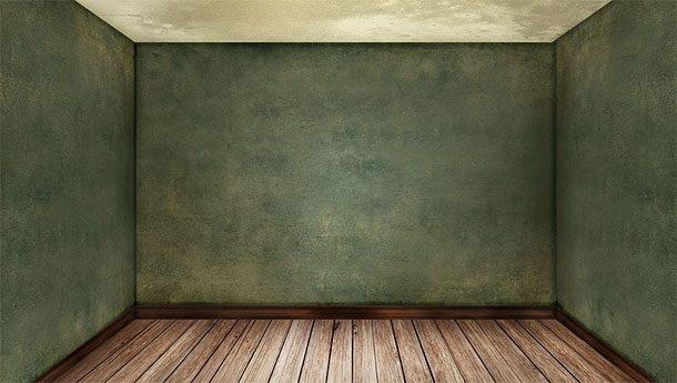 Пустая комната без мебели