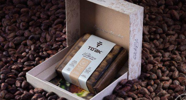Коньячный шоколад от To'ak