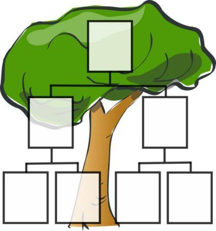 Пустое генеалогическое древо