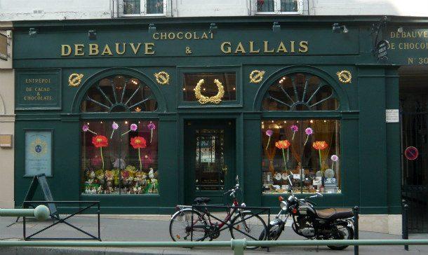 Шоколад от Debauve & Gallais