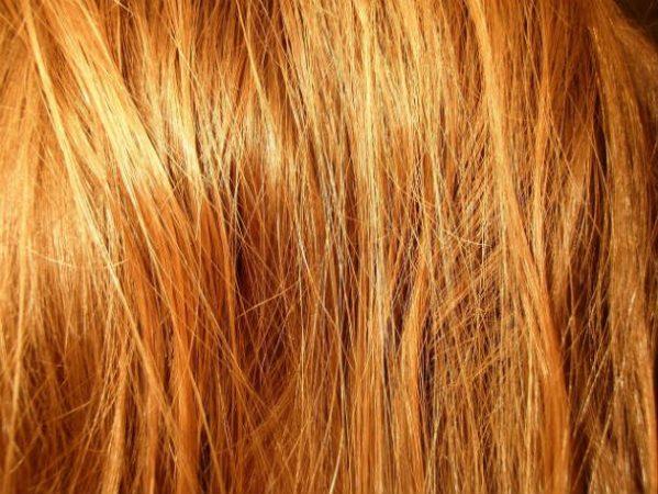 Светло-русые длинные волосы