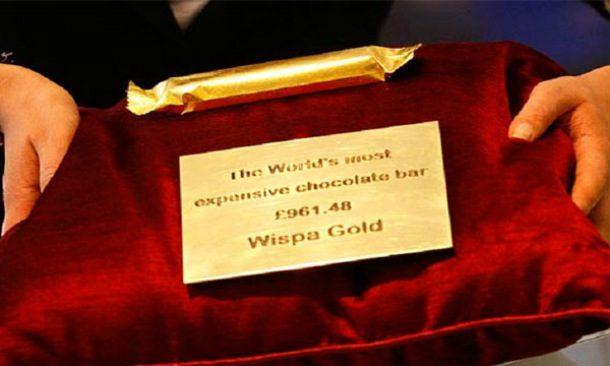 Wispa Gold Wrapped Chocolate