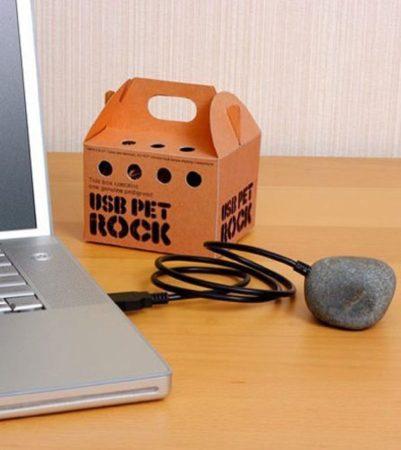 Домашний питомец-камень на USB