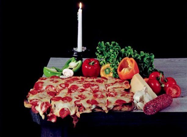 Инсталляция «Пицца»