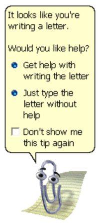 Клиппи (Скрепыш) из MS Office