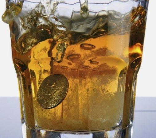 Монетка в стакане
