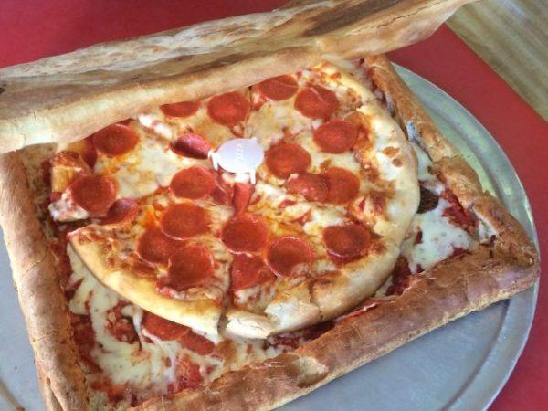 Съедобная коробка для пиццы