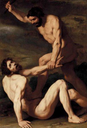 Каин убивающий Авеля
