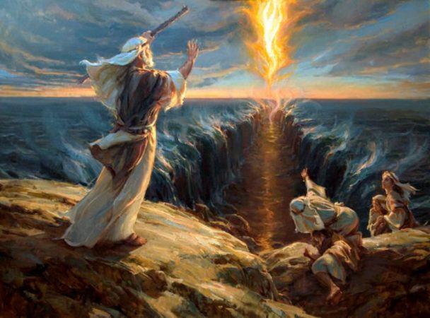 Переход евреев по дну Красного моря