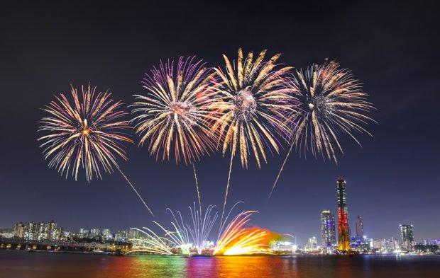 Сеул на Новый год