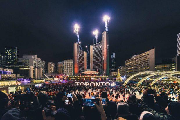 Торонто на Новый год