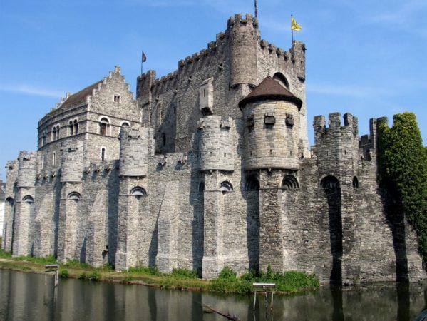 Замок Гравенстен (Замок графов Фландрии), Бельгия