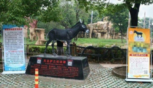 Памятник ослу