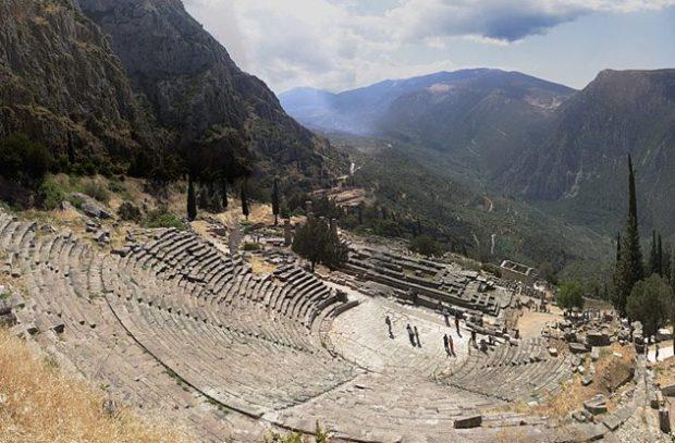 Развалины амфитеатра