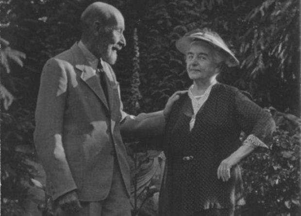 Эльза Брукман с мужчиной