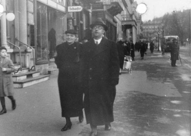 Маргарете Гиммлер с мужчиной