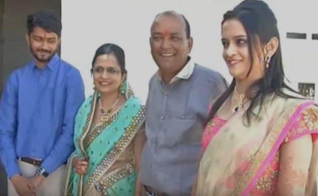 Семья индийского миллионера